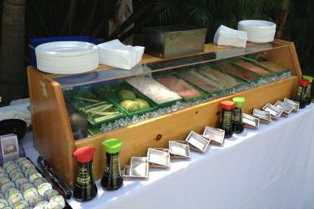 sushi catering bar