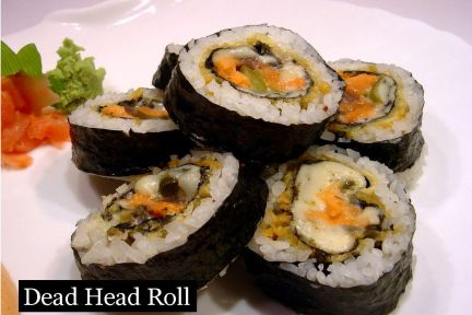 lunch sushi special dead head roll